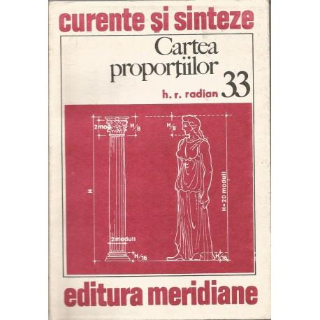 Cartea proportiilor - H. R. Radian