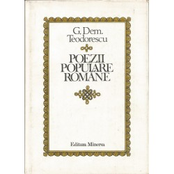 Poezii populare romane - G. Dem. Teodorescu
