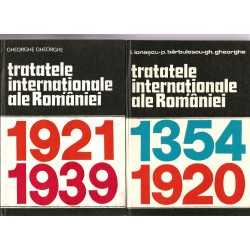 Tratatele internationale ale Romaniei 1354-1920, 1921 - 1939