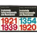 Tratatele internationale ale Romaniei 1354-1920, 1921 - 1939