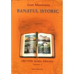 Banatul istoric (vol. 3). 1867 - 1918. Scoala. Educatia - Ioan Munteanu