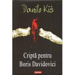 Cripta Pentru Boris Davidovici - Danilo Kis