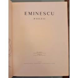 Mihai Eminescu - Poezii (Text stabilit de Perpessicius, ilustratii de Ligia Macovei)