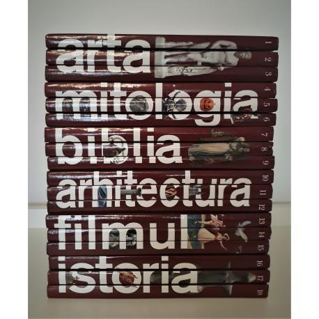 Colectia completa Raftul de Cultura Generala (18 volume)
