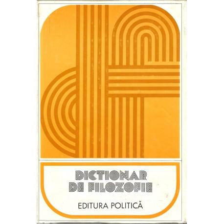 Dictionar de filozofie