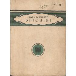 Spicuiri - Radu D. Rosetti