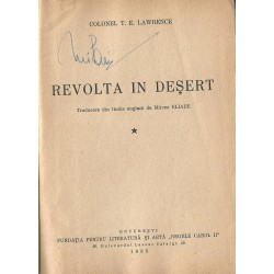 Revolta in desert - T. E. Lawrence