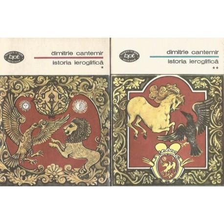 Istoria ieroglifica vol. 1 + 2 - Dimitrie Cantemir