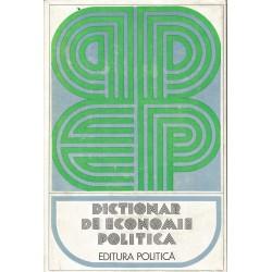 Dictionar de economie politica