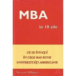 MBA in 10 zile - Steven Silbiger