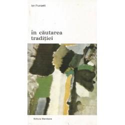 In cautarea traditiei - Ion Frunzetti