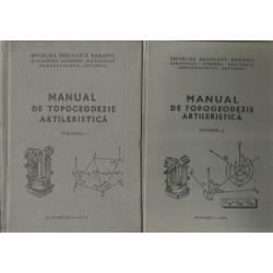 Manual de Topogeodezie artileristica (Vol. 1 + 2) - Ministerul Apararii Nationale, Col. (rez.) Ing. Ionica Boca