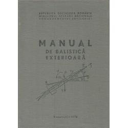 Manual de Balistica exterioara- Ministerul Apararii Nationale