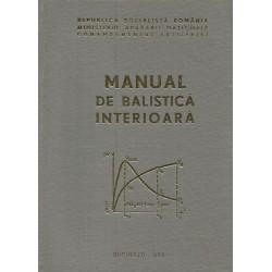 Manual de Balistica interioara - Ministerul Apararii Nationale