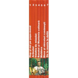 "Seria completa ,,Biblioteca de bucate"". Bucate, vinuri si obiceiuri romanesti (Vol. 1, 2, 3, 4, 5, 6, 7) - Radu Anton Roman"
