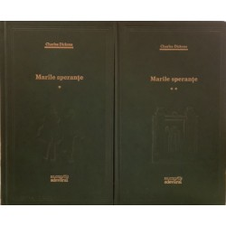 Marile sperante - Charles Dickens, Vol. 1 + 2 (Colectia Adevarul verde, Nr. 2, 3)