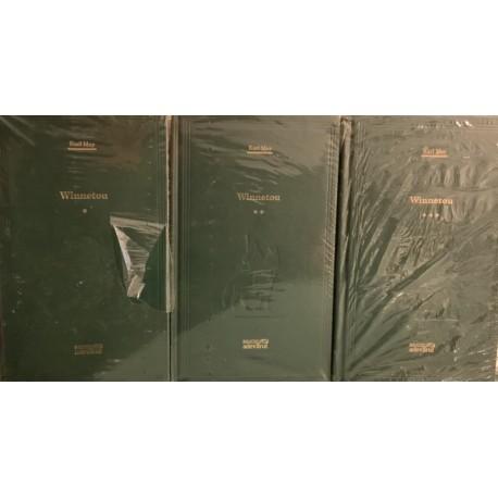 Winnetou - Karl May, Vol. 1+ 2 + 3 (Biblioteca Adevarul, Colectia Adevarul verde, Nr. 32, 33, 34)