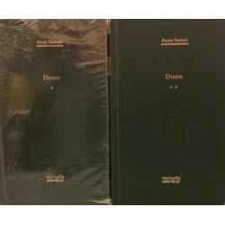 Dune - Frank Herbert, Vol. 1 + 2 (Biblioteca Adevarul, Colectia Adevarul verde, Nr. 54, 55)
