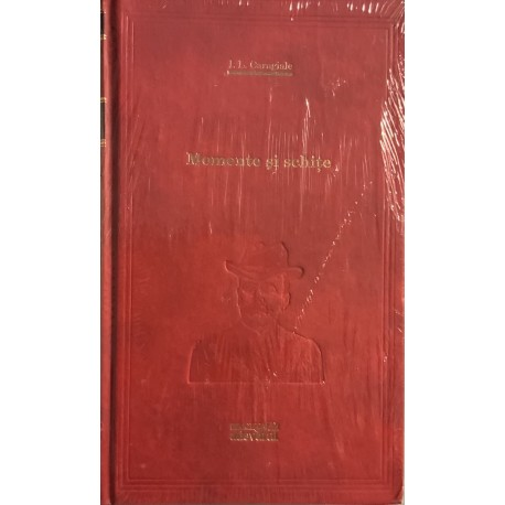 Momente si schite - I. L. Caragiale (Biblioteca Adevarul, seria rosie, Vol. Nr. 37)