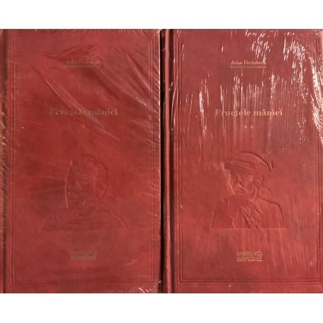 Fructele maniei - John Steinbeck, Vol. 1 + 2 (Biblioteca Adevarul, seria rosie, Vol. Nr. 31, 32)