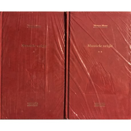 Muntele vrajit - Thomas Mann, Vol. 1 + 2 (Biblioteca Adevarul, seria rosie, Vol. Nr. 14, 15)