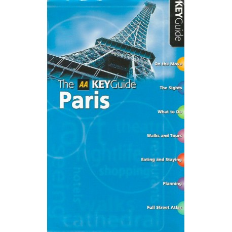 Paris: The AA Key Guide (AA Key Guides Series)