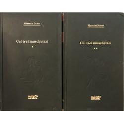 Cei trei muschetari - Alexandre Dumas, Vol. 1 + 2 (Colectia Adevarul verde, Nr. 59, 60)