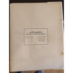Atlas Republica Socialista Romania - Academia Republicii socialiste Romania, Institutul de Geografie
