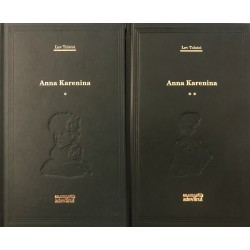 Anna Karenina, Vol. 1 + 2 - Lev Tolstoi (Colectia Adevarul verde, Nr. 8, 9)