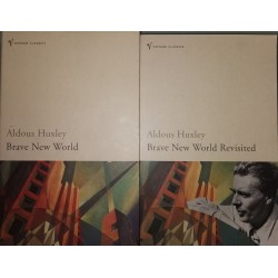 Brave New World + Brave New World Revisited (2 books) - Aldous Huxley