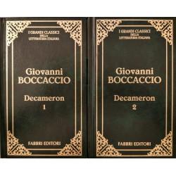 Decameron - Giovanni Boccaccio (vol I+II) - lb. italiana