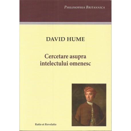 Cercetare asupra intelectului omenesc - David Hume