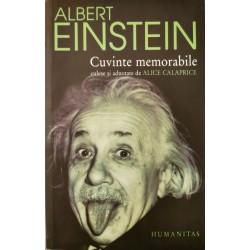 Albert Einstein: Cuvinte memorabile - Alice Calaprice