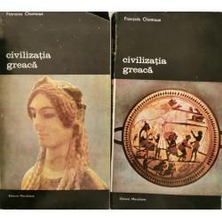 Civilizatia greaca (Vol. 1 + 2) - Francois Chamoux