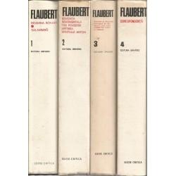 Gustave Flaubert - Opere complete (vol. 1 + 2 + 3 + 4, editia critica)