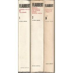 Gustave Flaubert - Opere complete (vol. 1 + 2 + 3, editia critica)