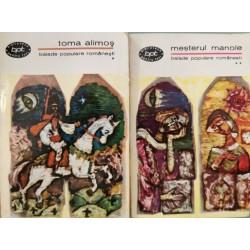 Balade populare romanesti, vol. 1 + 2 (Colectia Biblioteca pentru toti)