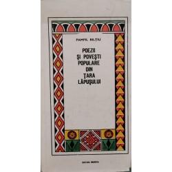 Poezii si povesti populare din Tara Lapusului - Pamfil Biltiu