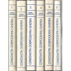 Opere complete (vol. 1, 2, 3, 4, 5, 8) - Constantin Dobrogeanu Gherea