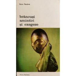 Brancusi: amintiri si exegeze - Petre Pandrea