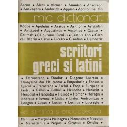 Scriitori greci si latini - Mic dictionar