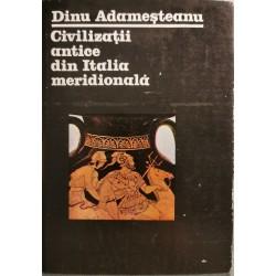 Civilizatii antice din Italia meridionala - Dinu Adamesteanu