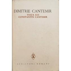 Viata lui Constantin Cantemir - Dimitrie Cantemir