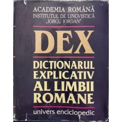 Dictionarul explicativ al limbii romane (DEX), ed. a II-a