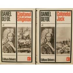 Capitanul Singleton, Colonelul Jack (2 carti) - Daniel Defoe