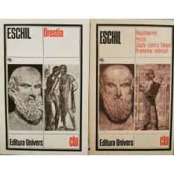 Orestia, Rugatoarele. Persii. Sapte contra Thebei. Prometeu inlantuit (2 vol.) - Eschil